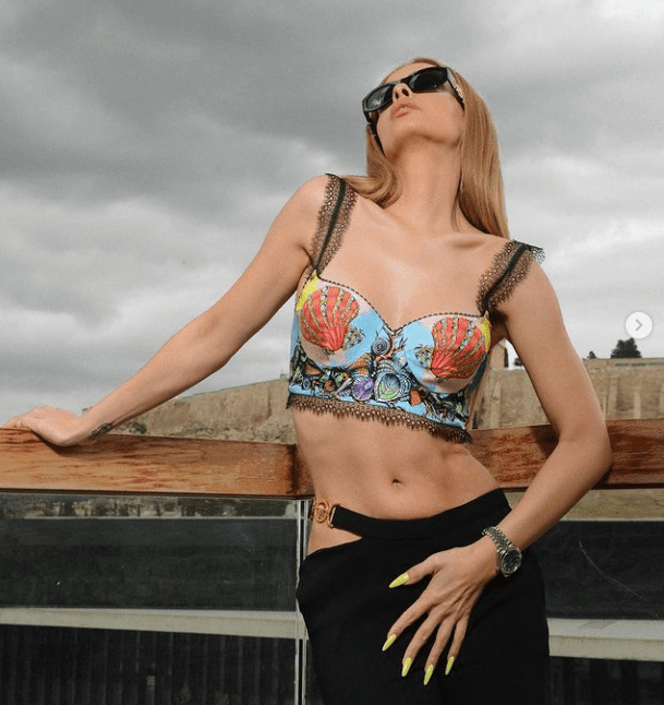 Seashell print: Πώς θα το φορέσεις όπως η Ελένη Φουρέιρα