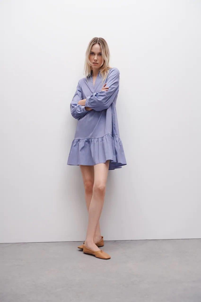 Ζara shirt dress: Αυτά είναι τα ωραιότερα κομμάτια της αγοράς και κοστίζουν κάτω από 20 ευρώ