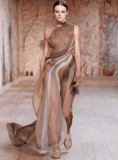 Dior: Το μακιγιάζ της συλλογής υψηλής ραπτικής Φθινόπωρο-Χειμώνας 2021/2022 είχε επίκεντρο τα μάτια