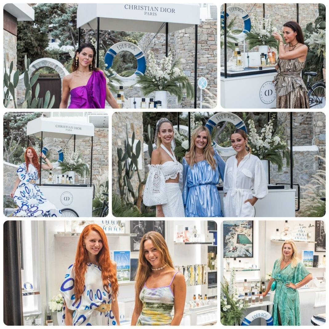 H «La Collection Privée Christian Dior» στη Μύκονο