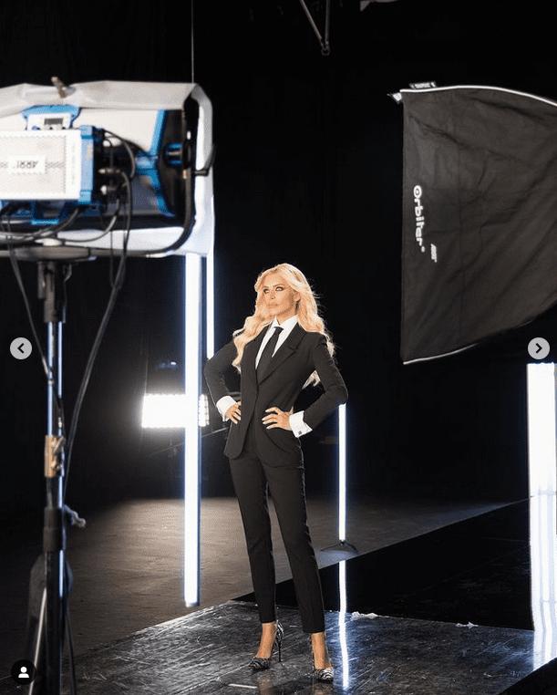 Star Style: Το sexy androgynous look της Κατερίνας Καινούργιου