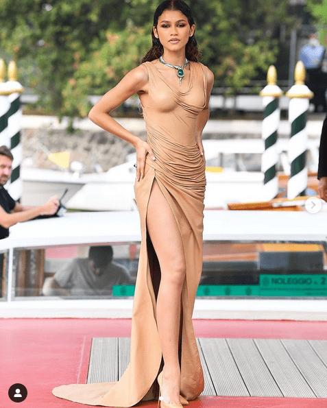 Mία από τις πιο εντυπωσιακές εμφανίσεις έκανε η Zendaya στο 78ο Φεστιβάλ Βενετίας