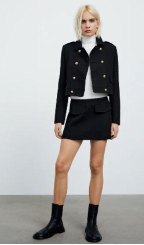 ZARA: Βάλε mini φούστα στην maxi προσωπικότητα σου!